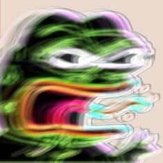 Really angry Pepe