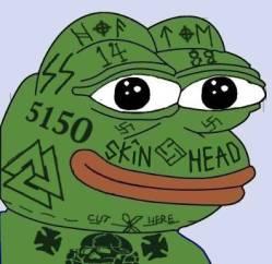 Face Tattoo Pepe