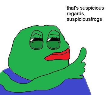 Suspicious Pepe