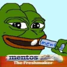 Mentos Pepe