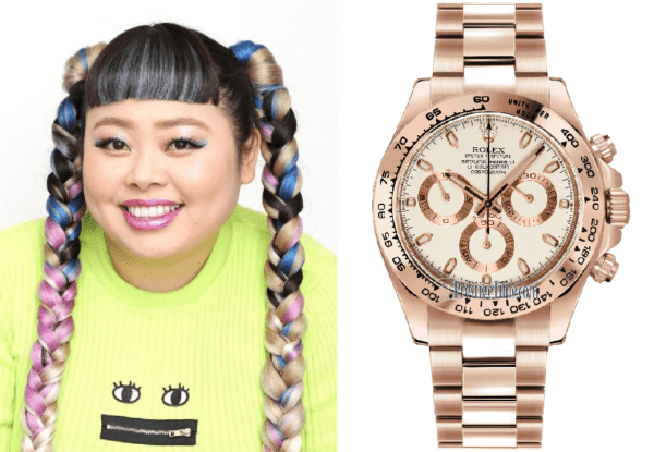 sale retailer 86dc8 b6ef2 有名人の腕時計 日本の芸能人女子編 | The Watcher in the Rye
