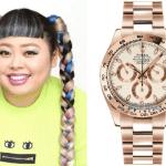 有名人の腕時計 日本の芸能人女子編