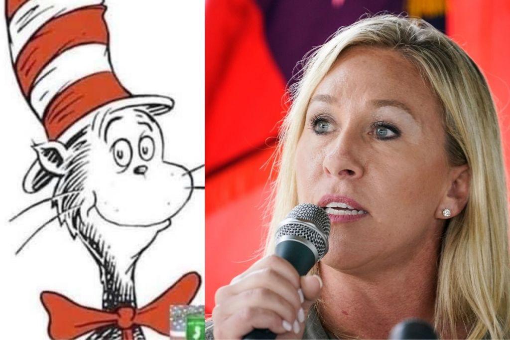 Rep. Marjorie Taylor Greene Co-Opts Dr. Seuss to Troll Joe Biden