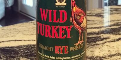 Wild Turkey 101 Rye 1990