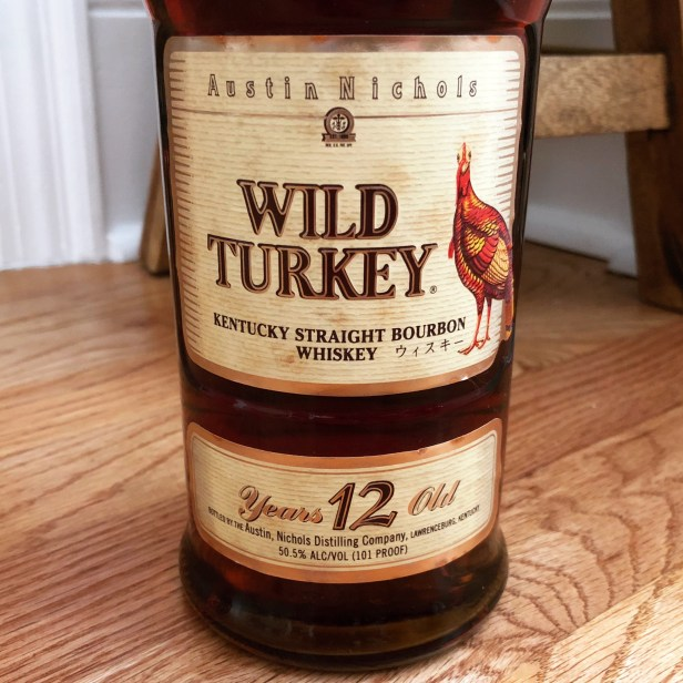 Wild Turkey 101-12 Split Label