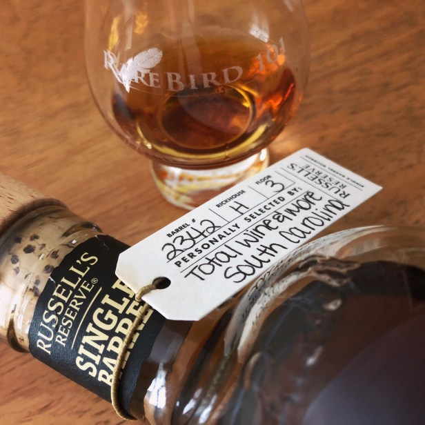 Russell's Reserve Single Barrel 2015