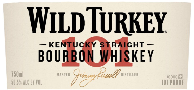 2020 Wild Turkey 101 Label