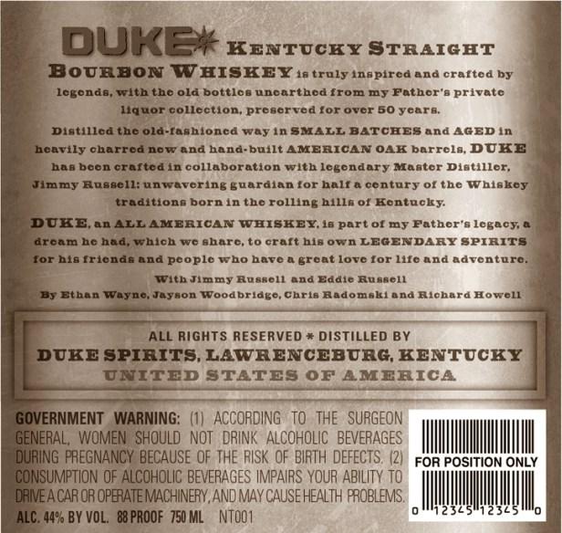Duke Whiskey