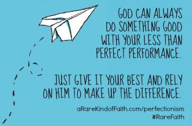 RareFaith-perfectionism