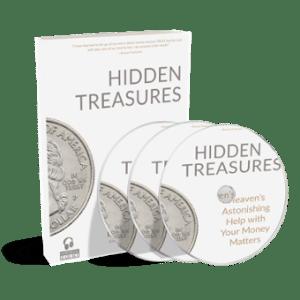 CD: Hidden Treasures Audiobook on 3 CDs
