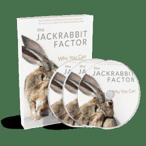 CD: Jackrabbit Factor Audiobook on 3 CDs