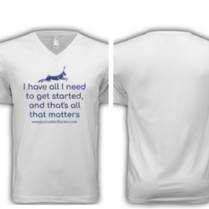 Shirt: All I Need to Get Started