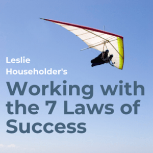 Working with the 7 Laws of Success