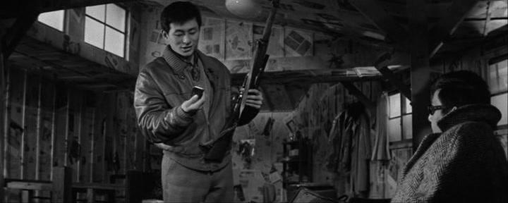 Image result for cruel gun story (1964)