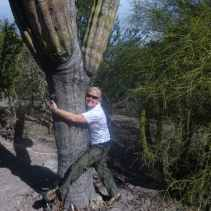 that's me, the cactus hugger, in Baja Sur