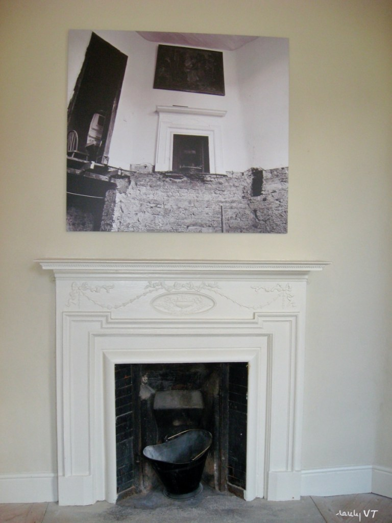 Damer House fireplace