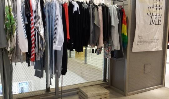 Agender concept store at Selfridges
