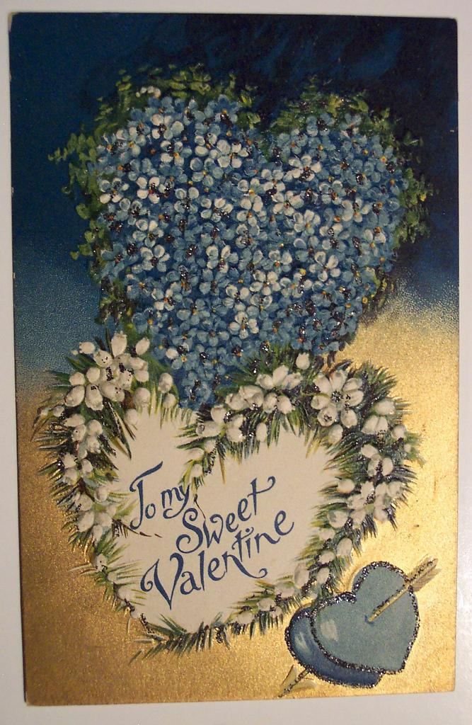 Vintage Valentine's postcard, via Flickr