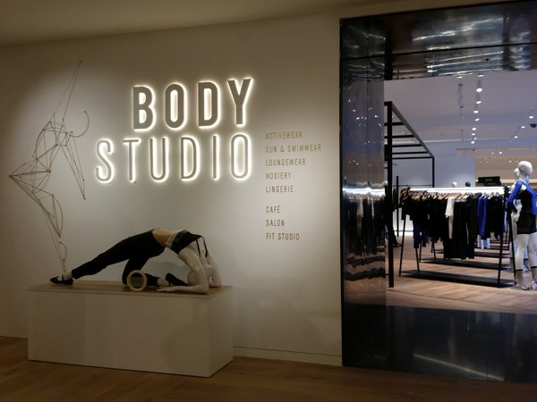 The Body Studio at Selfridges, Oxford Street