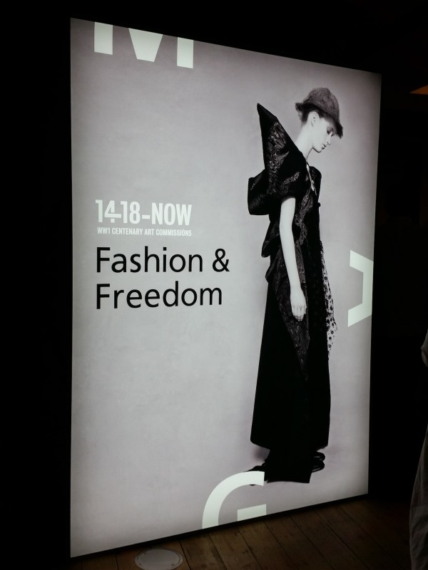 Fashion & Freedom exhibiton at Manchester Art Gallery