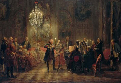 Flute Concert of Frederick the Great at Sanssouci