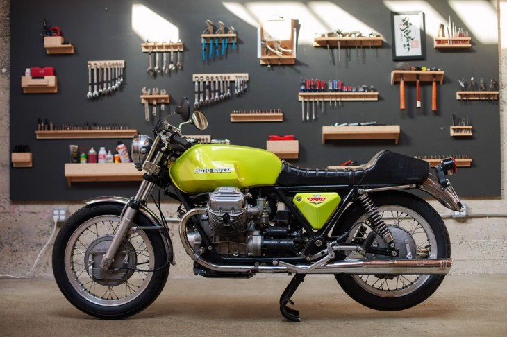 1973 Moto Guzzi V7 Sport For Sale