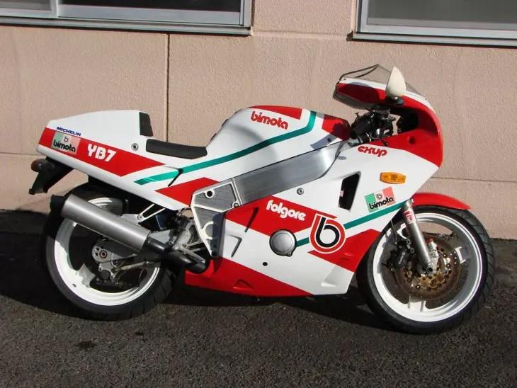 1988 Bimota YB7 R Side