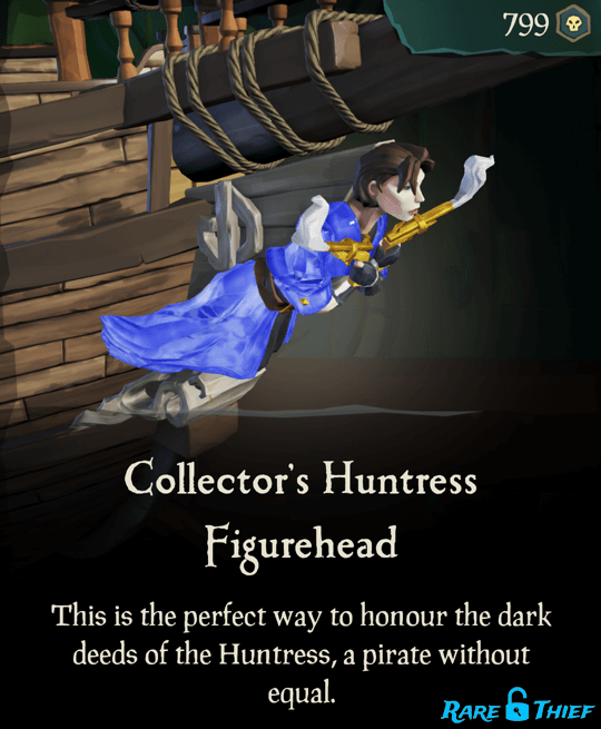 Collector's Huntress Figurehead