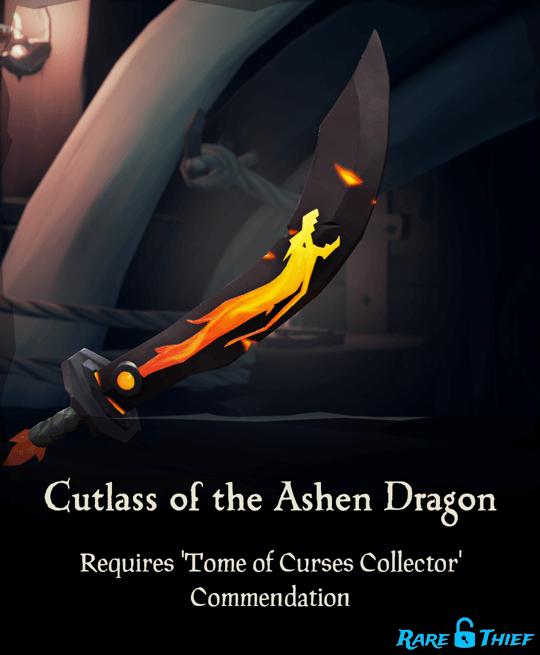 Cutlass of the Ashen Dragon