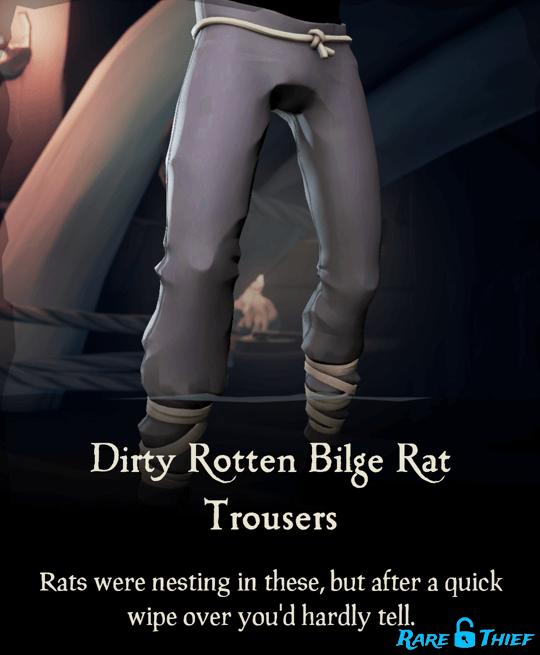 Dirty Rotten Bilge Rat Trousers