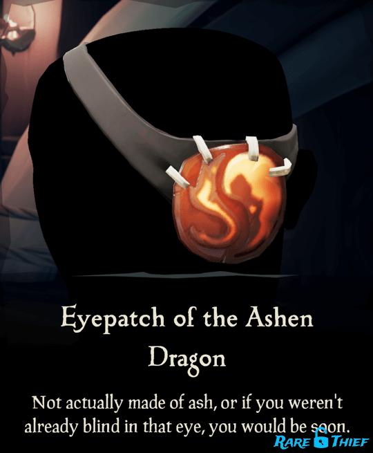 Eyepatch of the Ashen Dragon