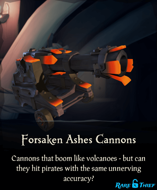 Forsaken Ashes Cannons