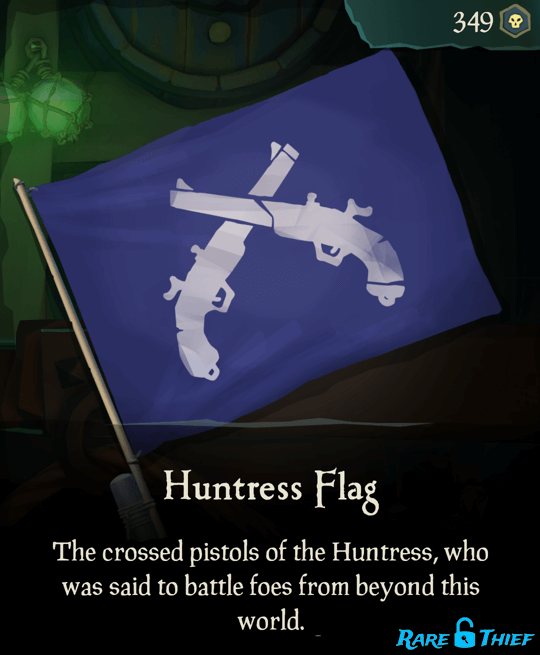 Huntress Flag