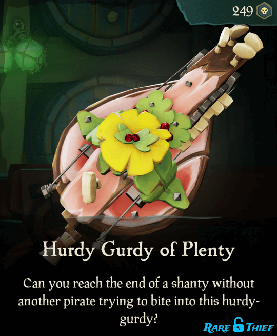 Hurdy Gurdy of Plenty