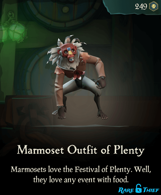 Marmoset Outfit of Plenty