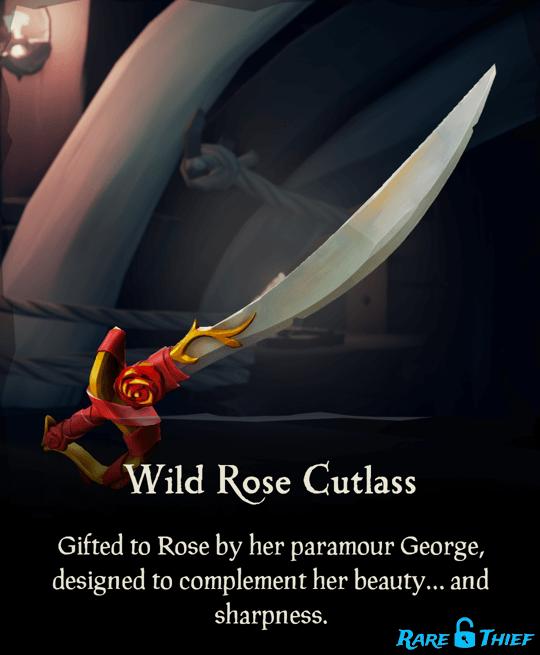 Wild Rose Cutlass
