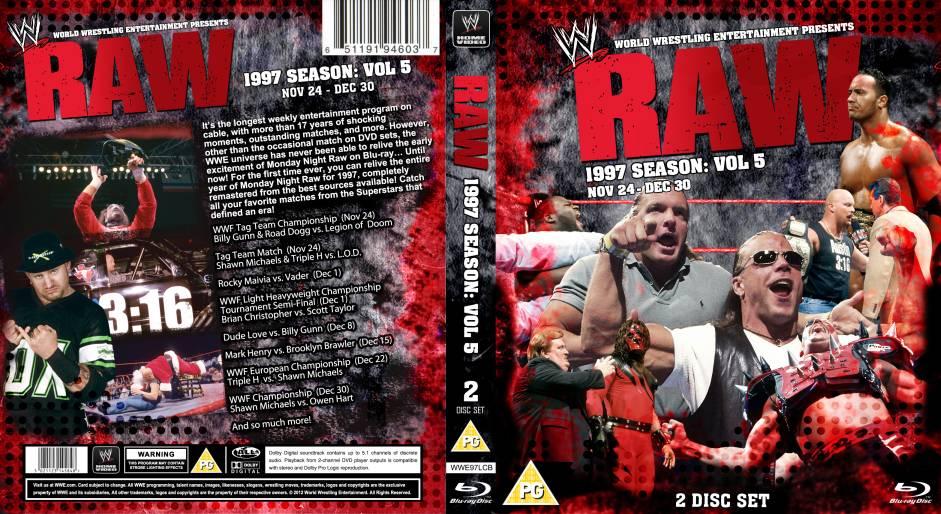 Wwe Raw 1997 Dvd Bluray