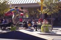 Ollie on College Ave. skate park