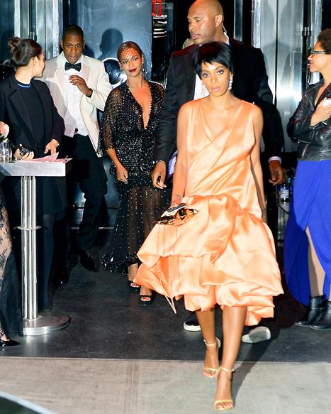 Beyonce After Met Gala