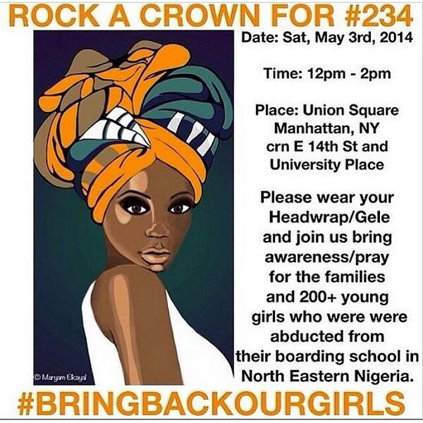 Bring Back Our Girls New York