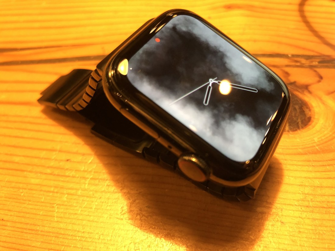大画面のApple Watch series4