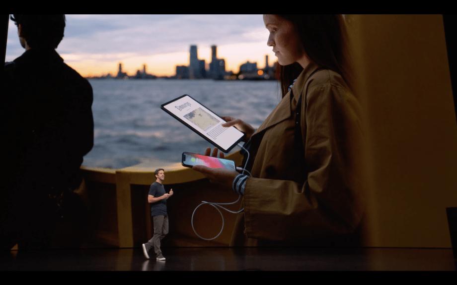 iPad Pro 第3世代 iPhone 充電
