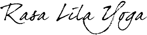 ラサリラヨガのロゴ(黒)