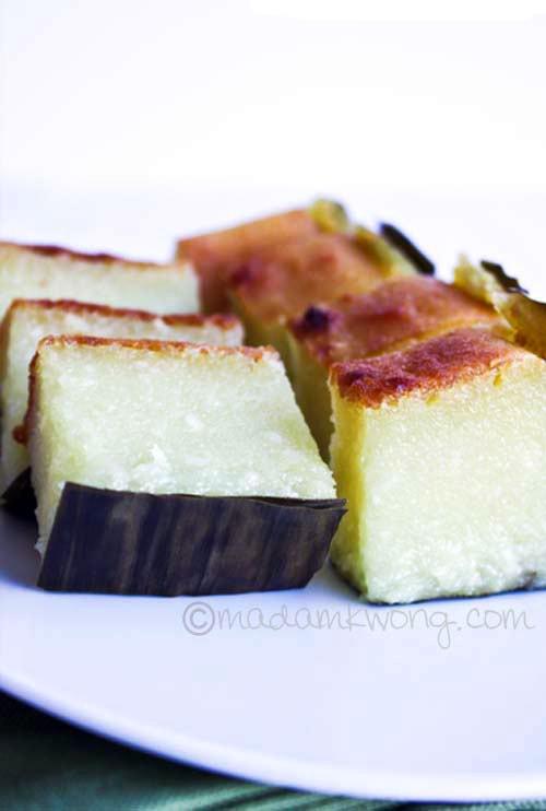 Tapioca Or Cassava Cake Kuih Bengka Easy Delicious Recipes