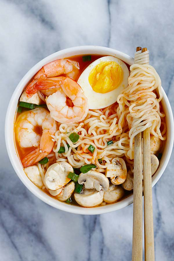 sriracha ramen2 - The Best New York Food Spots For A Foodie Trip