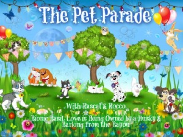 Pet Parade for all pets and animal lovers blog hop link up for pet bloggers