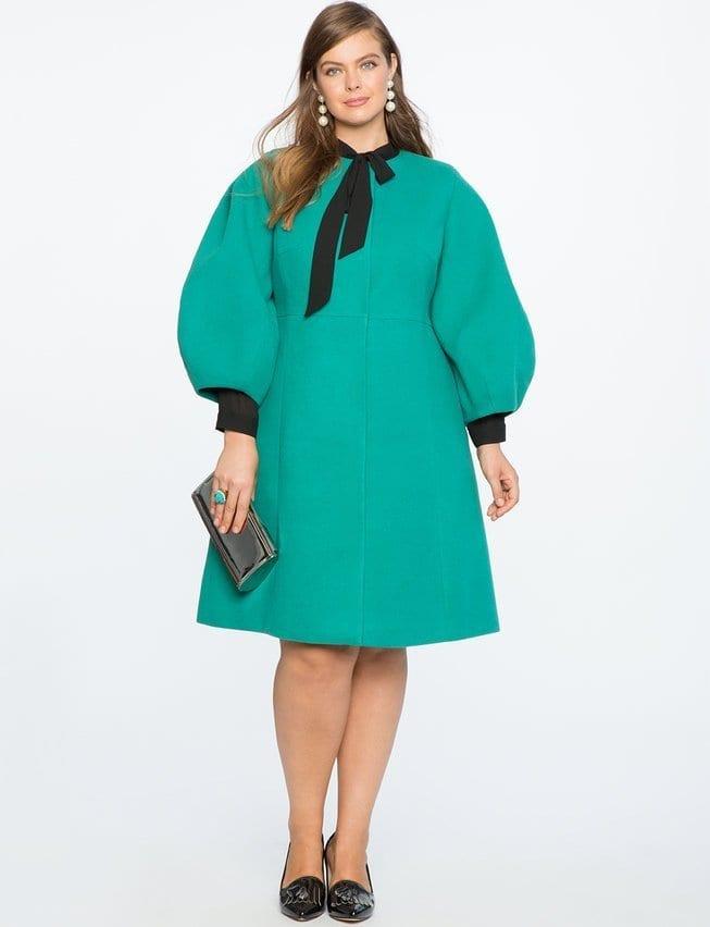 ELOQUII Drama Sleeve Coat