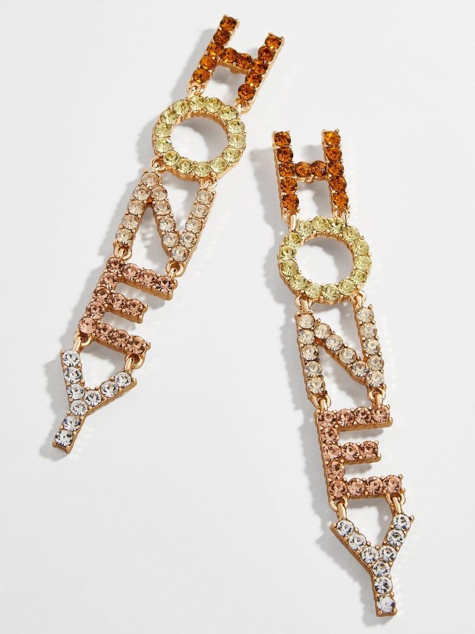 Bauble Bar Honey Earrings