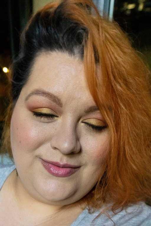 Winky Lux La Frutta Eyeshadow Palette Look