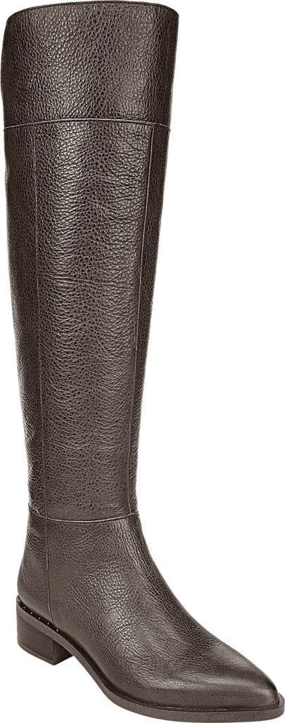 Franco Sarto Brown Wide Calf Boots